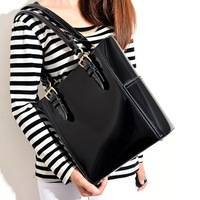 Winter Brand Design Totes Matte Glossy Patent Leather 2013 New Women Shoulder Bags European American Fashion Handbag Bolsas A56