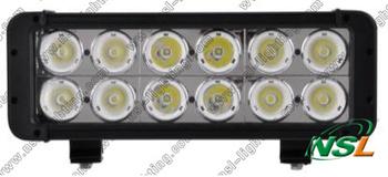 Free shipping Powerful 11'' 120W CREE LED work light bar 6800LM Waterproof TRUCK,CAR,SUV,TANK 10-70V Offroad fog roof head light