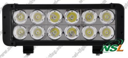 Free shipping Powerful 11'' 120W CREE LED work light bar 6800LM Waterproof TRUCK,CAR,SUV,TANK 10-70V Offroad fog roof head light(China (Mainland))