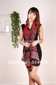 2014 New designer scarves Fashion Women Scarves Long Voile Tribal Aztec Scarf Swap Shawl Muslim Hijab monroe 180*92 cm  8 colors