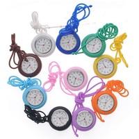 10pcs/lot Free shipping ,2013 Fashion high quality rubber Nurse Watch colorful nurse Watch block watch
