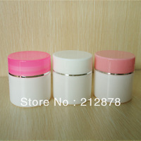 Free shipping PP 50g jar for cosmetic cream