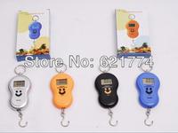 Hot 40kg x 10g Portable Mini Home Electronic Digital Scale Hanging Fishing Hook Pocket Weighing Balance Gift Free Shipping