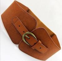 New style imitation leather high quality hot sell fashion elastic waist belt,female fashion decoration cummerbunds