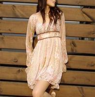 Liz lisa summer lacing dress chiffon one-piece dress