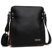 Luxury Brand 100% Genuine Leather Cowhide Men's Business Messenger Shoulder Bag , High Grade Bag For Men , Drop Shipping