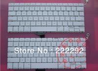 laptop keyboard for Apple A1342 us MC207  macbook keyboard white freeshipping