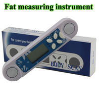 5pcs/lot 2013 New arrival Fat measuring instrument,Body Scan ,Fat meter,Fat tester,  fat calculator---Free shipping,dropshipping
