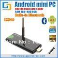 [RC12 Air Mouse] CX-919 Android 4.1.1 TV Box Stick Quad Core Mini PC RK3188 1.6Ghz 2G/8G Bluetooth HDMI WiFi Smart TV Receiver