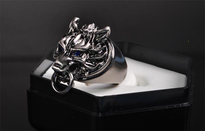 Final Fantasy Vii Cloud Wolf Ring
