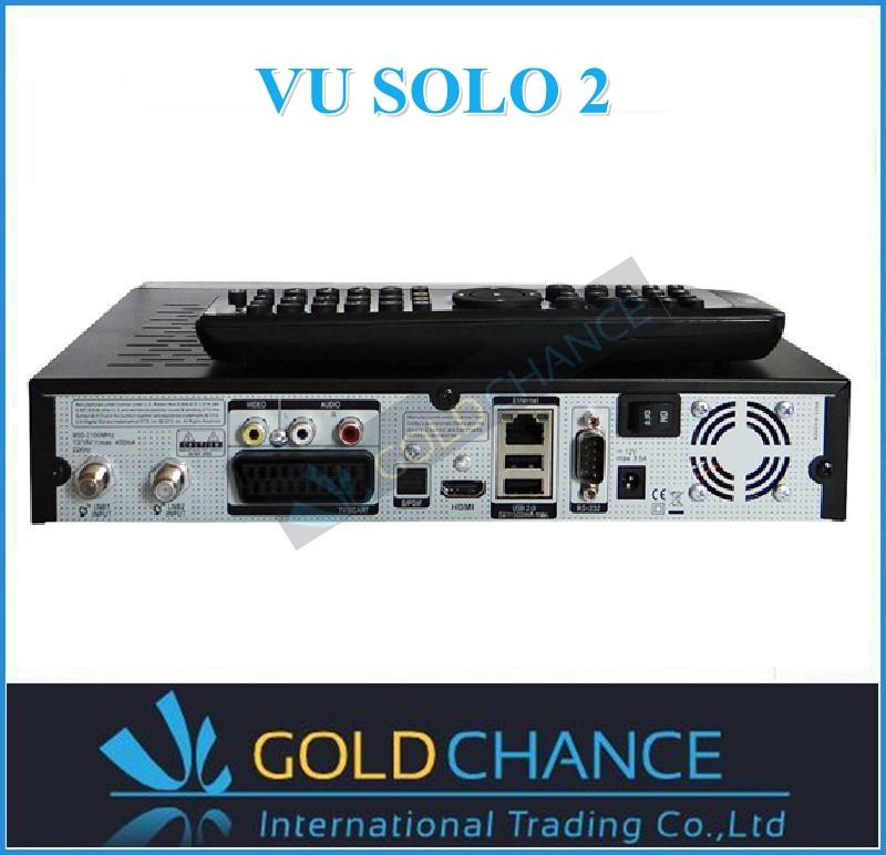 Vu solo2 doble sintonizador receptor de satélite gigabit ethernet ...