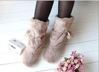 Free Shipping Hot Europe and the United States Home Cute Maomao Floor Boots Shoes