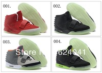 24 Colours Hot Sale Wholesale Air Yeezy II 2 Men's Basketball Sport Footwear Sneakers Trainers Shoes ( 1 - 24 Colours
