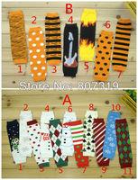 wholesale/retail baby legwarmers Christmas/Hallowmas Kids leg warmer Baby Clothing socks stockings pp pants children leggings