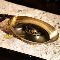 Paramount antique telephone ha1964 - lamp antique brass telephone fashion phone