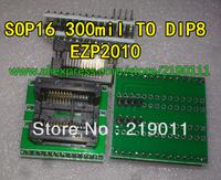 FREE SHIPPING EZP2010 Programmer SOP16 TURN DIP8 IC socket Programmer adapter Socket 300MIL