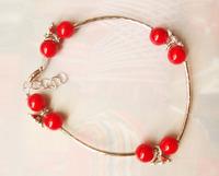 Free Shipping Handmade National trend unique accessories bohemia jewelry stone Tibetan Tibet Silver bracelet X'mas Gift