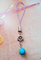 Free Shipping Handmade National trend accessories pendant  jewelry tibetan Tibet Silver mobile phone chain X'mas Gift