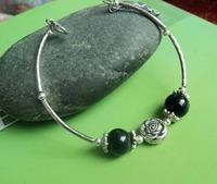 Free Shipping Handmade national bracelet trend diy  jewelry vintage Women trend Tibetan Tibet silver bracelet X'mas Gift
