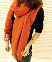 100% Cashmere scarf tassel Wool Wrap Accessories Women Wear Scarves free shipping four colors