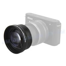 58MM 2.0X Telephoto Lens +Step up ring for NIKON 1 J1 J2 J3 V1 V2+10-30MM LENS BRAND NEW(China (Mainland))