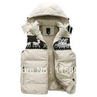 Men's cotton vest male outdoor multi-pocket plus size plus size slim trend wwww