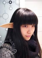 Fairy cosplay ears ultra long the sword  sword art online cosplay