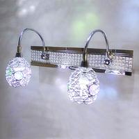 AC220V 4W Empty thread led mirror light modern brief fashion led mirror light wall lamp bathroom lamp mirror cabinet lamp