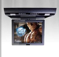 15 Inch Roof Monitor DVD Player Flip Down DVD with DVD/ VCD/ MP4/ Divx/ CD/ MP3/ SD/ USB/ Bulit-in IR/ FM Transmitter