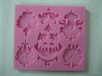 different kinds fashion design silicone fondant molds, soap, candle moulds, sugar craft tools, chocolate moulds, bakeware