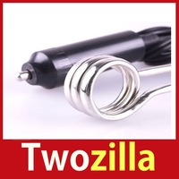 [Twozilla] Portable 12V Car Immersion Heater Tea Coffee Water Auto Electric Heater Hot