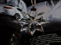 2013 Crystal Christmas Snowflake Ornament New in Box Decorative
