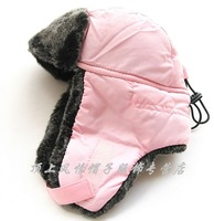 Hat banana child lei feng cap cotton cap pink
