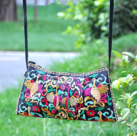 Free Shipping Special embroidered bag desigual printing handbag fashion women bag classic pu women's handbag