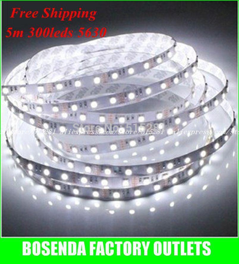 [해외]LED 유연한 스트립 저렴한 가격 5630 60 개 / 미터 입력 12V..
