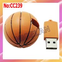 Wholesale 1GB 2GB 4GB 8GB 16GB 32GB 64GB basketball USB Flash Memory Stick Pen Drive ,pen drive 32gb Free shipping #CC239