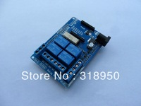 Free shipping 4 channel 5V Relay module extension board Relay Shield V1.3 for arduino compatible
