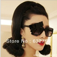Powerful current bow sunglasses fashion glasses