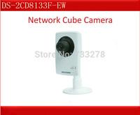 "Hikvision DS-2CD8133F-EW  VGA Network  WiFi Cube Camera ,POE, 1/4"" CMOS, Day&night Auto Switch, Hikvision IP Camera, CCTV Camera"