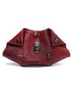 High Quality new 2014 fashion crocodile pattern day clutch skull punk women handbag women messenger bags women leather handbags