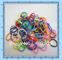 Free ship DHL  Wholesale 50bags 600pcs/bag colorful loom bands loom rubber bands loom kit DIY bracelets Christmas gift present