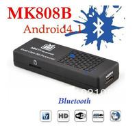 MK808B Android TV Box 4 .1 Mini PC Android Dual Core WiFi TV Box Rk3066 Bluetooth 1GB RAM 8GB ROM TV Stick