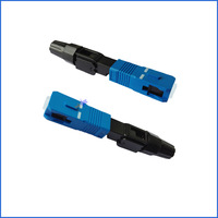 Reusable and Quality Fiber Optic SC/UPC Fast Connector/SC SM Fast Connector