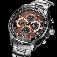 Pagani Design men stainless steel watches quartz watch waterproof 30M men sports watches(CX-0005)