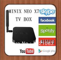 MINIX NEO X7 andriod 4.2 TV Box Rockchip RK3188 Quad Core android media player Smart tv box 2G/16G