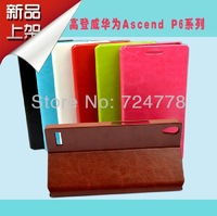 Huawei Ascend P6 Case,Original New Golderway Leather Case For Huawei Ascend P6 Screen protection as Gift! Free Shipping