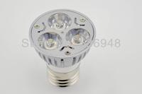220V 3W E27 White/Warm White LED Light Led Lamp Bulb Spotlight Spot Light