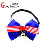 christmas gifts Cute ribbon dog neck collar/mix order is OK/pet collar/dog jewelry/fashion bowties for your puppy
