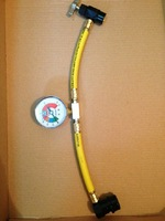 R134a recharge hose automotive air conditioning refrigerant supplementary tube fluoride tube refrigerant pipe
