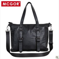 Mcgor 2013 commercial casual bag man bag handbag shoulder bag briefcase male